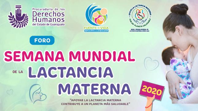 Foro: Semana Mundial de la Lactancia Materna