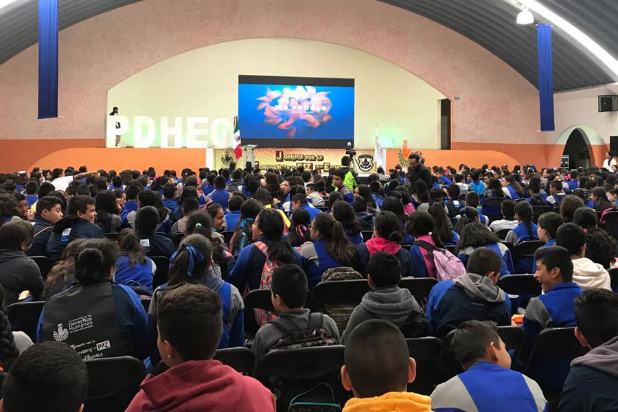 En San José Iturbide, promueve PDHEG sana convivencia entre estudiantes