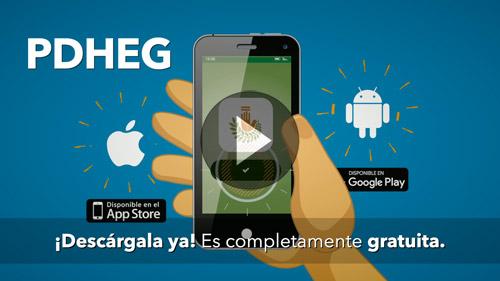 VIDEO :: Aplicación móvil PDHEG