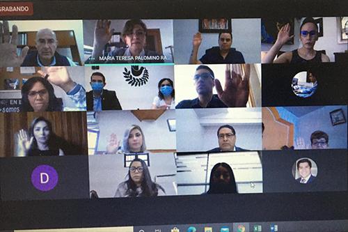 Sesiona Consejo Directivo de la Procuraduría Estatal de Protección de Niñas, Niños y Adolescentes de Guanajuato